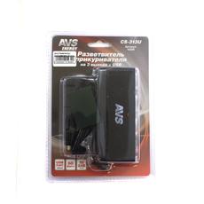 Разветвитель прикуривателя CS-313U (JL403V) 1224 3 в 1+ USB с проводом