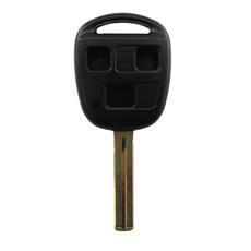 Ключ Lexus 3 кнопки TOY48 (37мм)