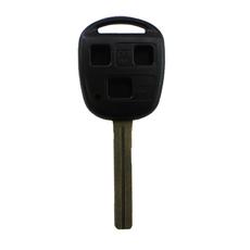 Ключ Lexus 3 кнопки TOY40 (44 мм)