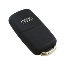 Ключ выкидной Audi A8 3 кнопки
