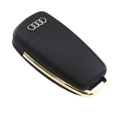 "Ключ выкидной Audi 3 кнопки ""банан"""