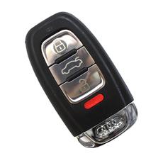Cмарт-ключ Audi 3 + 1 кнопки с лезвием