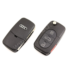 Ключ выкидной Audi 433Mhz