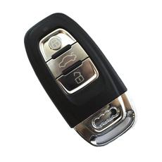 Cмарт-ключ Audi 3 кнопки с лезвием и вставкой под батарейку
