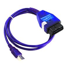 VAG COM KKL + Fiat Ecuscan адаптер с переключателем