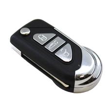 Корпус ключа выкидной Citroen 3 кнопки HU83