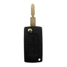 Ключ выкидной Peugeot 2 кнопки #2