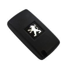 Ключ Peugeot 3 кнопки (свет) без бат