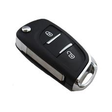 Ключ выкидной Citroen 2 кнопки VA2 new style под перестановку