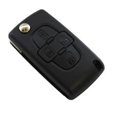 Корпус выкидной Citroen C8 4 кнопки HU83