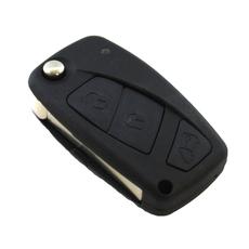 Ключ выкидной Fiat 3 кнопки SIP22 black