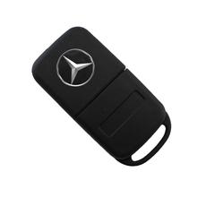 Ключ выкидной Mercedes Benz 2 кнопки HU64