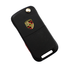 Ключ выкидной Porsche 2+1 кнопки
