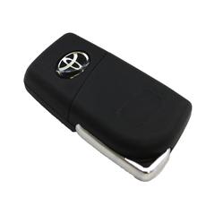 """Корпус ключа выкидного Toyota 2 кн.TOY43 """"Цветочек"""""""