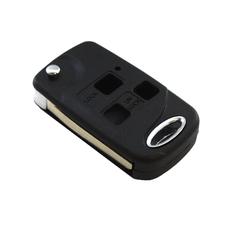Болванка ключа выкидного Toyota 3 кнопки TOY47