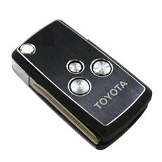 Ключ выкидной Toyota 3 кнопки пустышка
