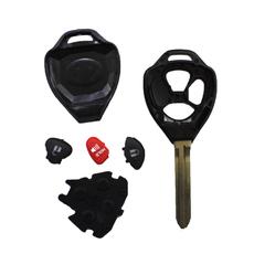 Простой ключ Toyota 2+1 кнопки корпус