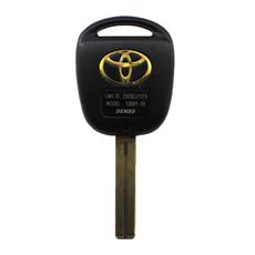 Ключ простой Toyota 3 кнопки TOY48 (37 мм)