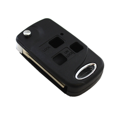 Корпус выкидного ключа Toyota 3 кнопки TOY43