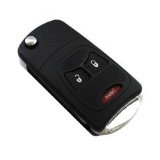 Болванка ключа выкидного Chrysler 2 + 1 кнопки
