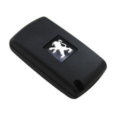Ключ выкидной Peugeot 3 кнопки свет #4