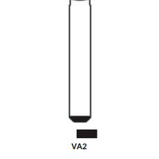 Ключ выкидной Citroen 2 кн с ДУ 433 MHz VA2