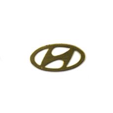 Логотип на ключ зажигания Hyundai