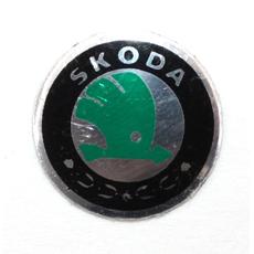 Логотип на ключ зажигания Skoda