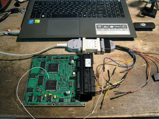 BSL режим в CombiLoader для работы с ЭБУ на базе микроконтроллеров семейств ST10F27x и C16x