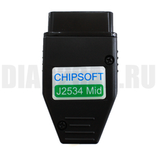 J2534 Mid адаптер ChipSoft + K-Line + CANHacker