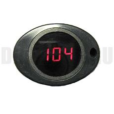 Универсальный индикатор температуры двигателя красный
