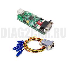 CAN-Hacker двухканальный USB-CAN адаптер