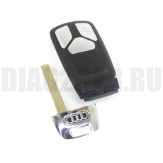 Корпус смарт ключа в 3 кн. AUDI Q7 E-tron .RS c 16 года