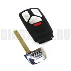 Корпус смарт ключа в 3+1 кн. AUDI Q7 E-tron .RS c 16 года