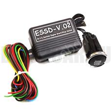 Кнопка запуска двигателя автомобиля ESSD-V.02