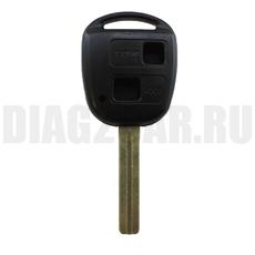 Ключ Lexus 2 кнопки TOY40 (44 мм)