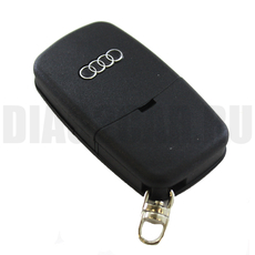 "Ключ выкидной Audi 2 кнопки батарейка ""1616"""