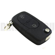 "Ключ выкидной Audi 2 кнопки батарейка ""2032"""