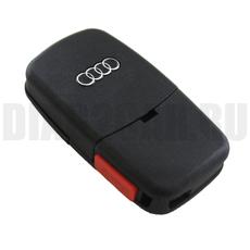 "Ключ выкидной Audi 2+1 кнопки батарейка ""2032"""