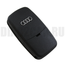 "Ключ выкидной Audi 3 кнопки батарейка ""2032"""