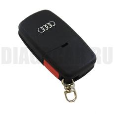 "Ключ выкидной Audi 3+1 кнопки батарейка ""1616"""