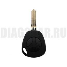 Ключ зажигания 3 кнопки с ДУ ВАЗ влагозащищенный