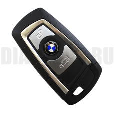 Смарт-ключ BMW 2010 3 кн.+ вставка