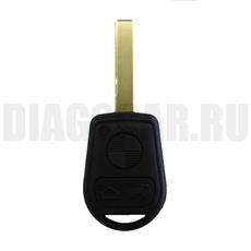 Ключ BMW 3 резиновые кнопки HU92
