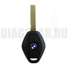 Ключ BMW 3 кнопки с ДУ 433Mhz