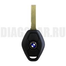 Ключ BMW 3 кнопки с ДУ 315Mhz HU92