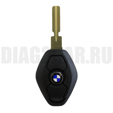 Ключ BMW 3 кнопки с ДУ 315Mhz HU58