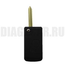 Ключ выкидной Citroen 2 кнопки SX9