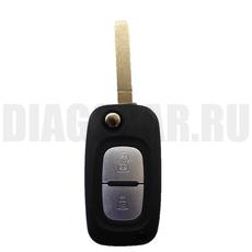 Ключ выкидной Renault 2 кнопки
