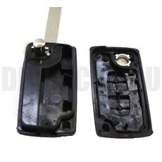 Ключ выкидной Peugeot 2 кнопки без бат